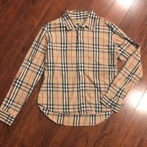 Burberry Plaid Shirt